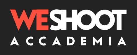 logo weshoot accademia fotografia di paesaggio e corsi online, dark mode